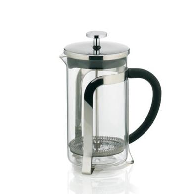 Konvice na kávu a čaj a French press