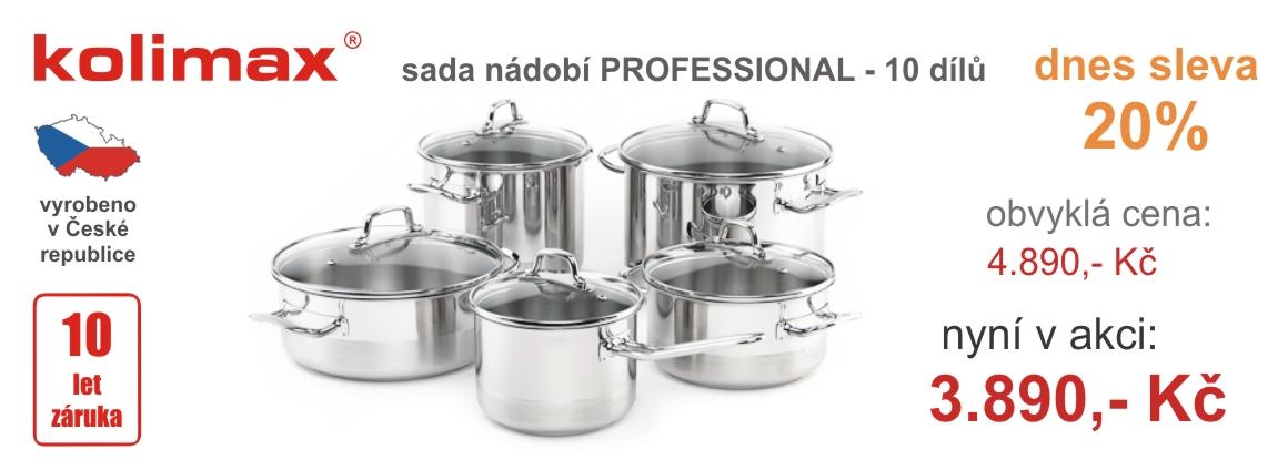 Akční nabídka 10-ti dílné soupravy nádobí