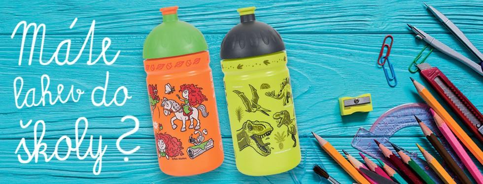 Školáci se nám chystají opět do školy. Máte pro ně potřebné na nápoje a svačinu?