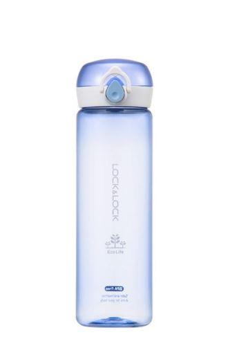 LOCK & LOCK Lahev na vodu BISFREE ONE TOUCH 550 ml, modrá