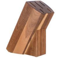 BANQUET Dřevěný blok BRILLANTE pro 5 nožů, akácie