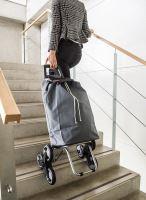 ALDO Nákupní taška na kolečkách do schodů MADRID, šedá_0