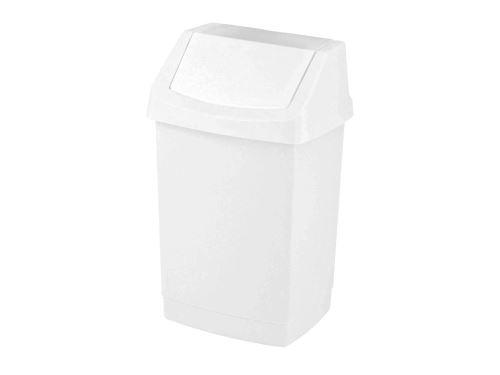 CURVER Odpadkový koš CLICK 9 l, bílý