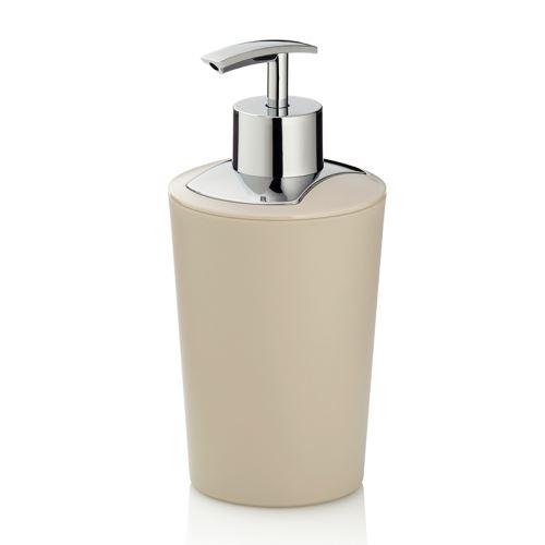 KELA Dávkovač mýdla MARTA, 350 ml, plast, krémový