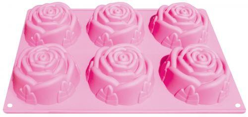 ALVARAK Forma růží na výrobu mýdla 6 ks, silikon_0