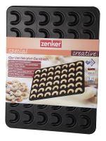 ZENKER Forma, plech na vanilkové rohlíčky 42 ks, 42 x 32 cm