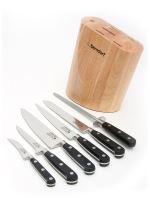 BERNDORF-SANDRIK Sada nožů Profi Line 6ks + blok