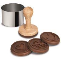 ORION Razítko na sušenky, 4 dekory