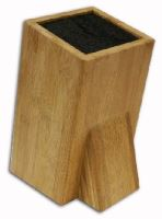 ORION Stojan, blok na nože bambus, plastové štětiny, šikmý