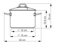 KOLIMAX Hrnec PROFESSIONAL o15 cm, 1,5 l, se skleněnou poklicí_3