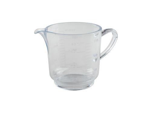 PLZEŇSKÉ DÍLO Odměrka na vodu UNI 150 ml univerzál s ouškem, ražená