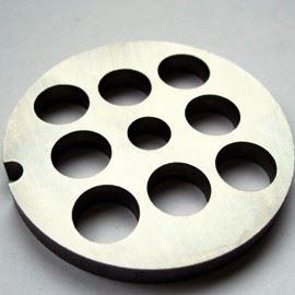 PORKERT Řezná deska hrubost 14 mm, určená pro mlýnek na maso vel. č. 8