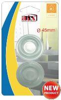 ARTEX Chránič nábytku, nárazník silikon, 2 ks, 45 mm, samolepící