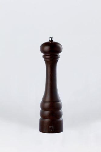 BISETTI Mlýnek na pepř dřevěný, tmavý 28,5 cm