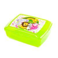 BRANQ Box na svačinu, klickbox s vložkou 20,5 x 13,5 x 7,5 cm, barvy mix
