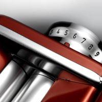 MARCATO Strojek na nudle ATLAS 150 WELLNESS, DESIGN, červený (DROBNÁ MINI POVRCHOVÁ VAD_5