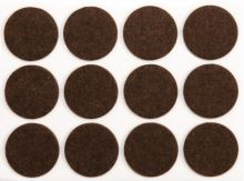 Chrániče samolepící filcové 28 mm, 12 ks