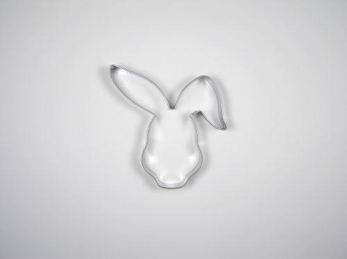 JANDEJSEK Vykrajovátko zajíc - hlava 74 x 76 mm