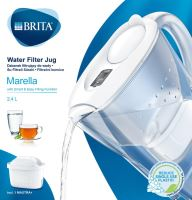 BRITA Marella Cool Memo bílá 2,4 l + 1ks filtr Maxtra +