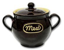 Nádoba na med, medák, 0,5 l, keramika