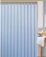 DURAMAT Koupelnový závěs jednobarevný 180 x 200 cm, textilní, modrý