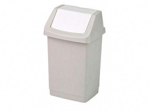 CURVER Odpadkový koš CLICK 25 l, béžový