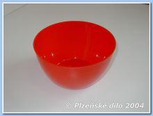 PLZEŇSKÉ DÍLO Miska 0,5 l, plast, barvy mix