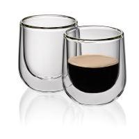 KELA Sklenice na espresso FONTANA 60 ml, 2 ks, dvoustěnná_0