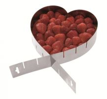 WESTMARK Forma na dort nastavitelná srdce, výška 5 cm