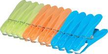 FAVE Kolíčky na prádlo JUMBO 12 ks, 8,5 cm, plast