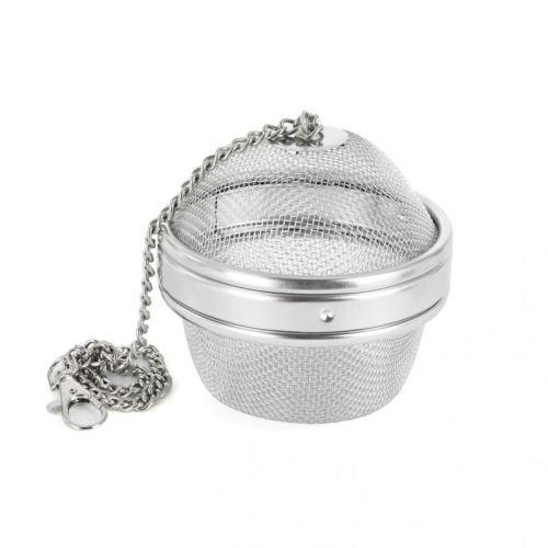 ORION Sítko na čaj, koření o 9 cm, s řetízkem