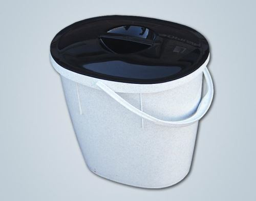 ALFA plastik Vědro 12 l oválné s víkem, barvy mix