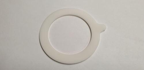 KOZÁK Těsnění na patentní zavařovací sklenice FIDO, silikonové, bílé, 93, 66 x 2 mm, 1 ks