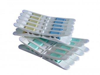 PETRA plast Kolíčky na prádlo 20 ks, 5,5 cm, barvy mix