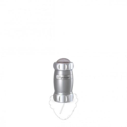 MARCATO Cukřenka-moučenka DESIGN, stříbrná, 163 ml