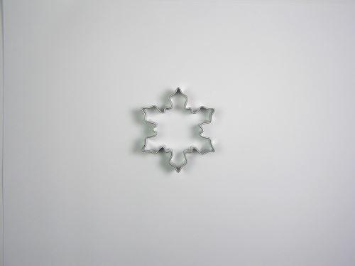 JANDEJSEK Vykrajovátko vločka malá 50 x 43 mm