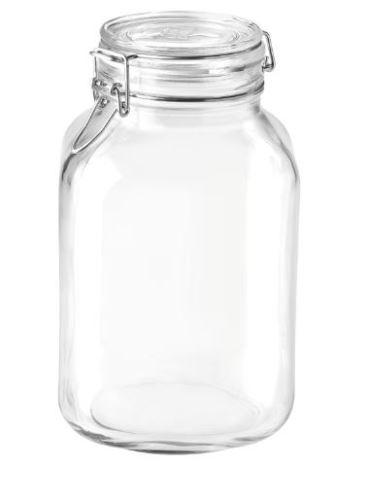 BORMIOLI ROCCO Zavařovací sklenice FIDO 3 l s patentním uzávěrem