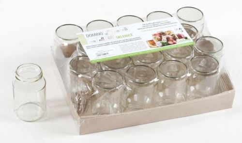 DOMINO Zavařovací sklenice SIRIUS 213 ml dětská výživa, twist 53, 1ks