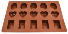 ALVARAK Forma na pralinky 3 tvary, silikon