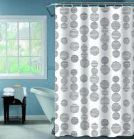 DURAMAT Koupelnový závěs dekor HWN11160, 180 x 200 cm, vinyl