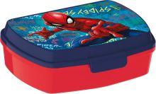 Box na svačinu SPIDERMAN 17,5 x 13,5 x 5,8 cm