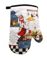 DURATEX Kuchyňská chňapka RM 067, 28 cm, bavlna,magnet, poutko, kuchař