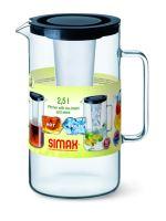 SIMAX Džbán s čajovým filtrem a vložkou na led 2,5l