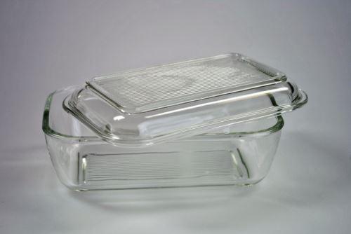 LUMINARC Dóza na máslo skleněná, čirá, 16,8 x 10,5 cm