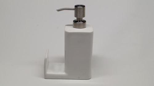 TESCOMA Dávkovač saponátu ONLINE 350 ml, odkladačem pro houbičku