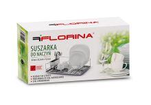FLORINA Odkapávač na nádobí AMPIO chrom s podnosem nerez 47 x 32 cm_2