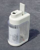 Dávkovač tekutého mýdla 0,5 l, plast, bílá / čirá