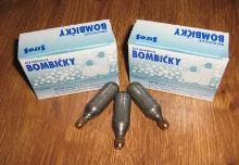 SIFOS Sifonové bombičky, výkup prázdných bombiček 1x krabička = 10ks, na naší prodejně