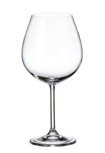 CRYSTALITE BOHEMIA Sklenice COLIBRI na červené víno, 650 ml, 1 ks