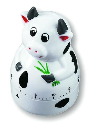 TFA Mechanická minutka kravička, 38.1007